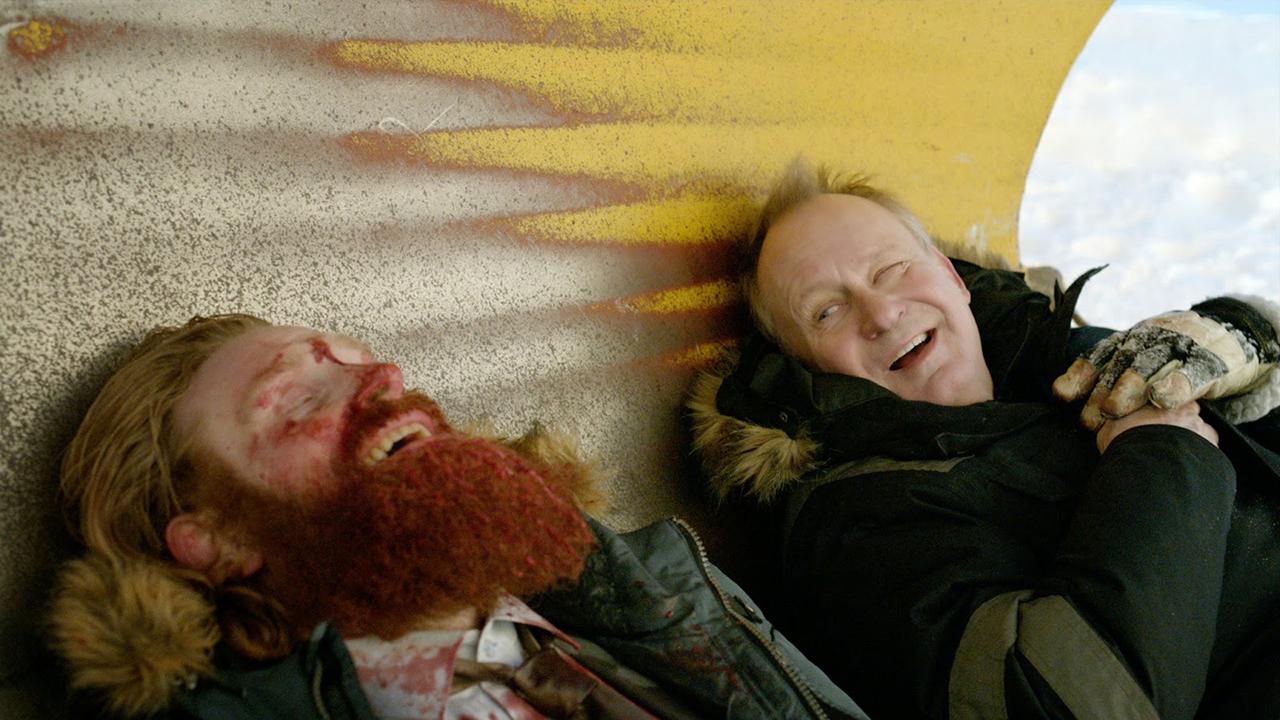Kristofer Hivju e Stellan Skarsgård