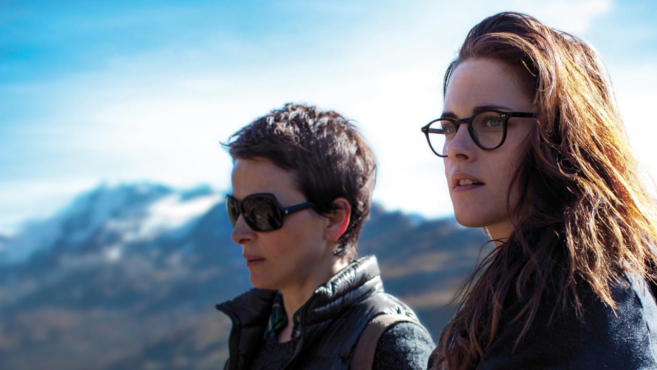Juliette Binoche e Kristen Stewart