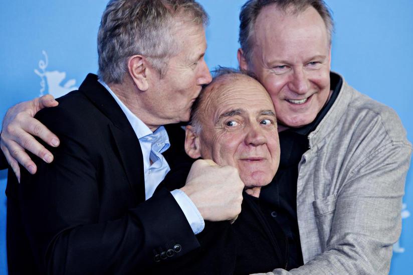 Hans Petter Moland, Stellan Skarsgård e Bruno Ganz
